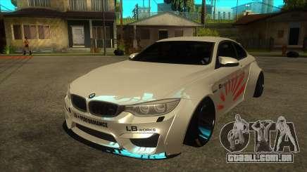 BMW M4 Liberty Walk Performance para GTA San Andreas