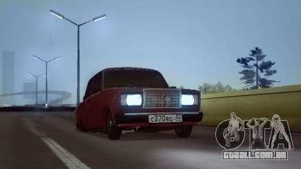 VAZ 2107 NNBPAN para GTA San Andreas