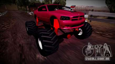 2006 Dodge Charger SRT8 Monster Truck para GTA San Andreas