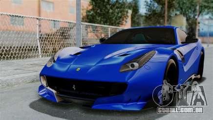 Ferrari F12 TDF 2016 para GTA San Andreas