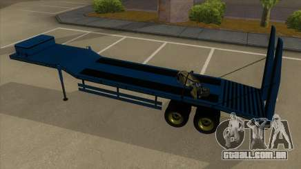 Trailer with Hydaulic Ramps para GTA San Andreas