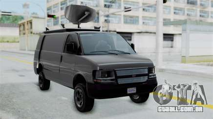 Vapid Speedo Newsvan para GTA San Andreas