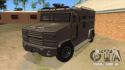 GTA 5 Brute Riot Police para GTA San Andreas