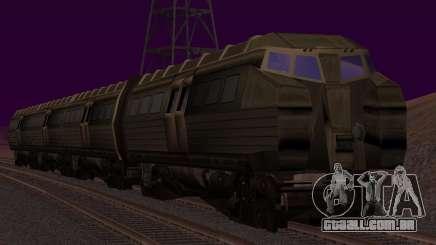 Batman Begins Monorail Train v1 para GTA San Andreas