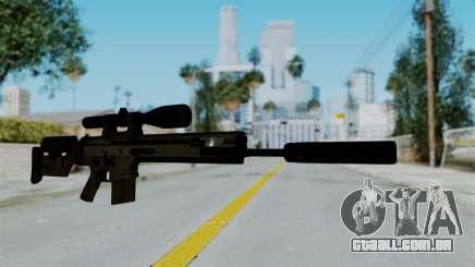 SCAR-20 v2 Supressor para GTA San Andreas