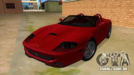 Ferrari 550 Barchetta Pinifarina US Specs 2001 para GTA San Andreas