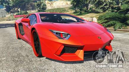 Lamborghini Aventador v1.0 para GTA 5