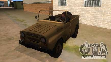 UAZ-469 Desert para GTA San Andreas