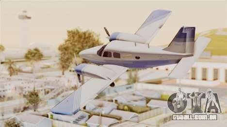 Piper Seneca II v2 para GTA San Andreas esquerda vista