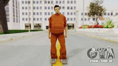 Claude Speed (Prision) from GTA 3 para GTA San Andreas segunda tela