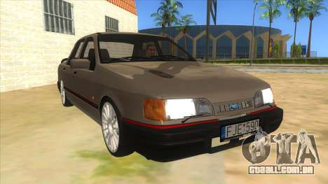 Ford Sierra Sapphire Cosworth para GTA San Andreas vista traseira