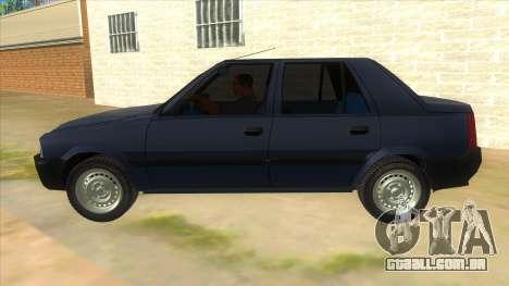 Dacia Solenza V2 para GTA San Andreas esquerda vista