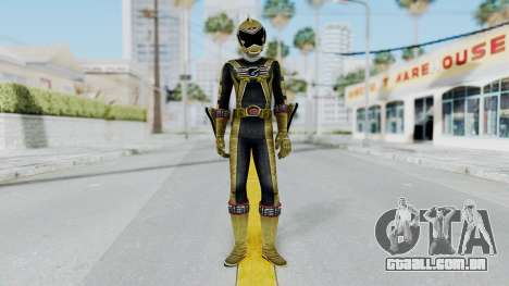 Power Rangers RPM - Gold para GTA San Andreas segunda tela