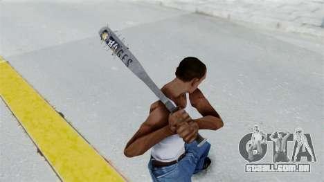 Nail Baseball Bat v5 para GTA San Andreas