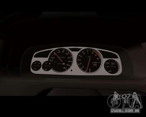 Nissan R33 GT-R Tunable para GTA San Andreas vista interior