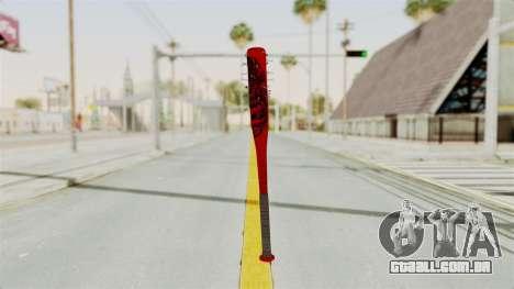 Nail Baseball Bat v2 para GTA San Andreas segunda tela