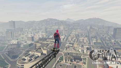 GTA 5 Homem-aranha sexta imagem de tela