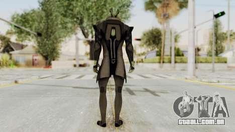 Mass Effect 2 Thanes para GTA San Andreas terceira tela
