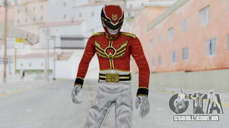 Power Rangers Megaforce - Red para GTA San Andreas