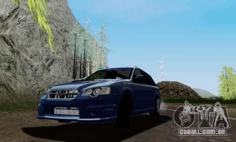 Subaru Legacy STi Wagon 2008 para GTA San Andreas
