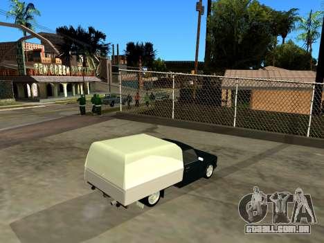 Vis 2345 para GTA San Andreas vista direita