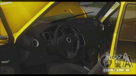 VAZ 1111 Oka para GTA San Andreas vista interior