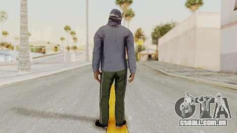 Middle East Insurgent v2 para GTA San Andreas terceira tela