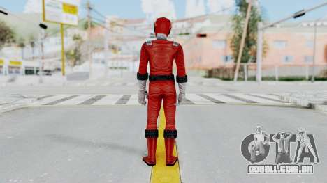 Power Rangers RPM - Red para GTA San Andreas terceira tela