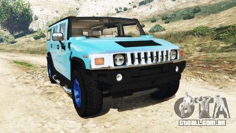 Hummer H2 2005 [matiz] v2.0 para GTA 5