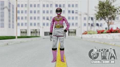 Power Rangers Samurai - Pink para GTA San Andreas segunda tela