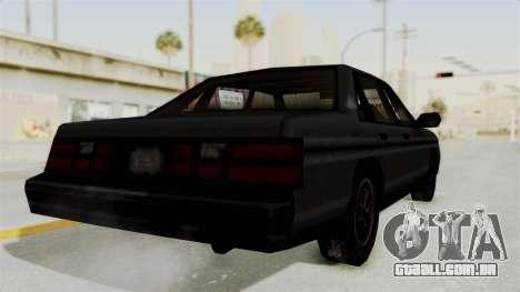 Cruiser from Manhunt 2 para GTA San Andreas vista direita