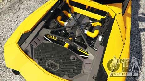 Lamborghini Aventador LP720-4 50th Anniversary para GTA 5