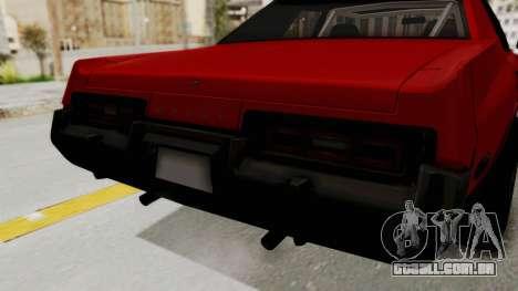 Dodge Monaco 1974 Drag para GTA San Andreas vista interior