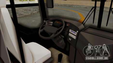 Superlines Ordinary Bus para GTA San Andreas vista traseira