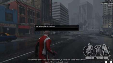 Bullet Knockback 1.4b para GTA 5
