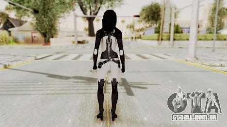 Mass Effect 3 Miranda para GTA San Andreas terceira tela