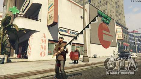 GTA 5 Anime Sawtooth Cutlery segundo screenshot