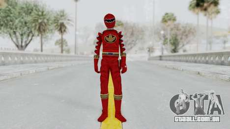 Power Rangers Dino Thunder - Red para GTA San Andreas segunda tela
