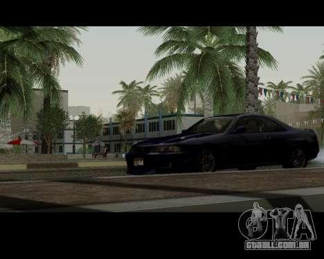 Nissan R33 GT-R Tunable para GTA San Andreas vista traseira