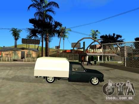 Vis 2345 para GTA San Andreas vista traseira