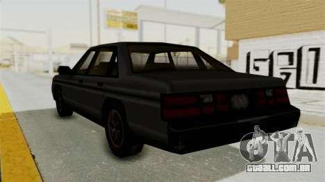 Cruiser from Manhunt 2 para GTA San Andreas esquerda vista