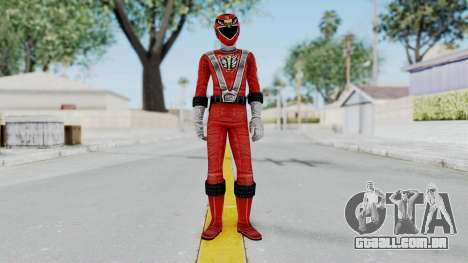 Power Rangers RPM - Red para GTA San Andreas segunda tela