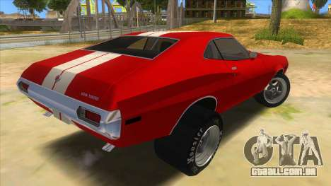 1972 Ford Gran Torino Drag para GTA San Andreas vista direita