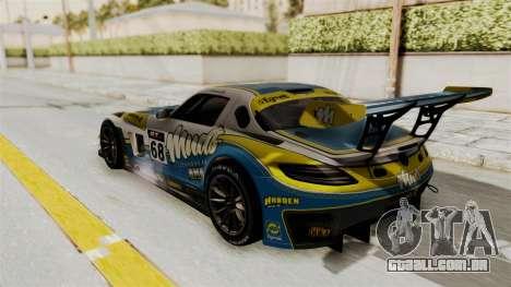 Mercedes-Benz SLS AMG GT3 PJ3 para GTA San Andreas vista interior
