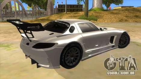 Mercedes Benz SLS AMG GT3 para GTA San Andreas vista direita