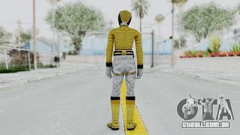 Power Rangers Megaforce - Yellow para GTA San Andreas terceira tela