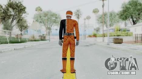 Power Rangers S.P.D - Orange para GTA San Andreas terceira tela