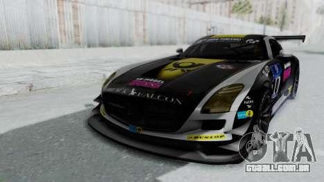 Mercedes-Benz SLS AMG GT3 PJ6 para o motor de GTA San Andreas