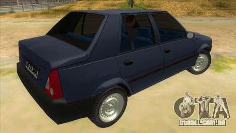 Dacia Solenza V2 para GTA San Andreas vista direita