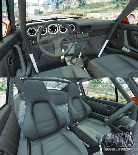 GTA 5 Ruf CTR v1.2 traseira direita vista lateral